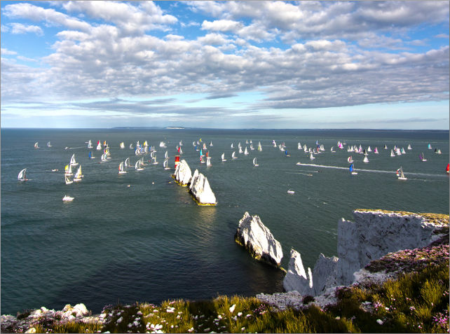 round the island race 2013 - visit isle of wight