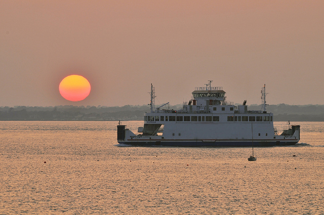 wightlink ferry - visit isle of wight - name removeed